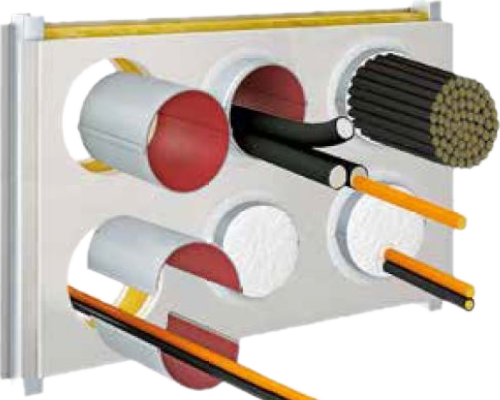 fire cable tube system