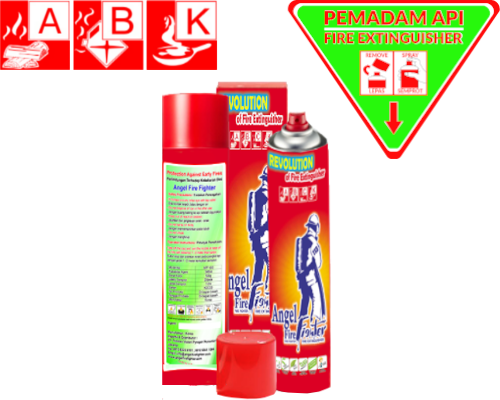 fire extinguisher A B C K