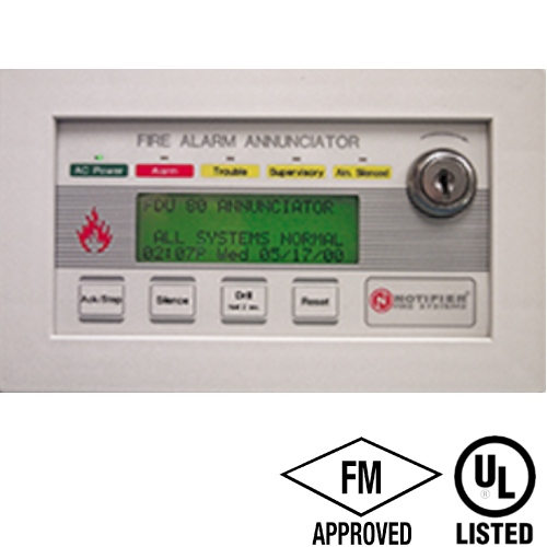 notifier annunciator lcd