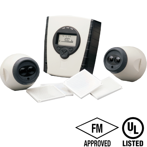 potter fire alarm motorised beam detector