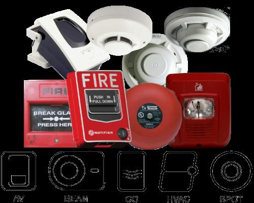 system sensor simplex siemens edward gst fire alarm